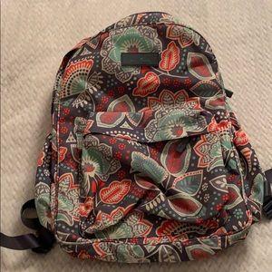 Vera Bradley water proof backpack